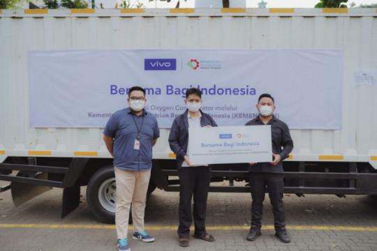 vivo Indonesia salurkan bantuan oxygen concentrator bagi pasien COVID-19 melalui Kementerian Perindustrian RI