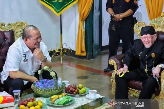 Lokasi Festival Adat Kerajaan Nusantara di Sumedang ditinjau Ketua DPD