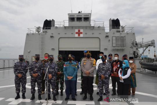 TNI AL kerahkan KRI Semarang-594 bawa kebutuhan oksigen di Riau