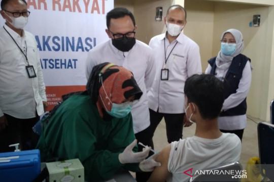 Terus dipercepat, vaksinasi di Kota Bogor capai 51,22 persen
