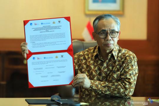 OJK-Kemenkominfo sepakat perkuat digitalisasi sektor jasa keuangan