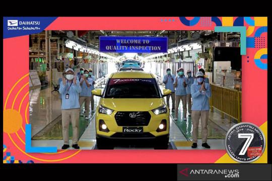 Rocky jadi mobil ke-7 juta yang diproduksi Astra Daihatsu Motor