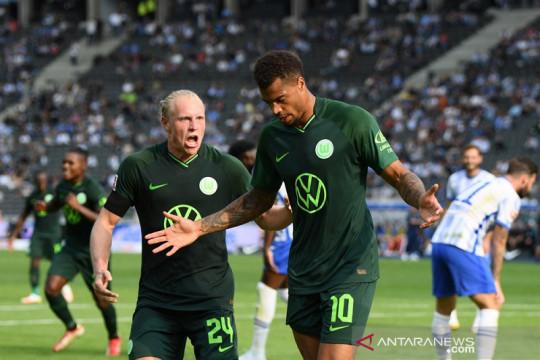 Wolfsburg bangkit di markas Hertha, Bochum petik tiga poin perdana