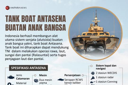 Tank boat Antasena buatan anak bangsa