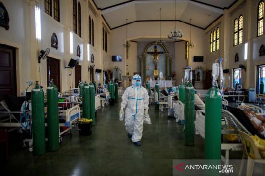 Kasus COVID-19 rekor, Filipina perpanjang pembatasan