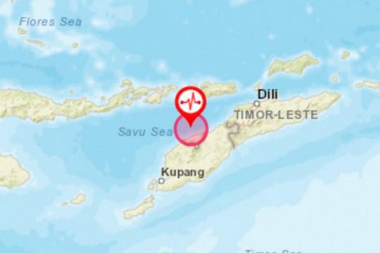 Gempa magnitudo 5,4 terjadi di Timor Tengah Utara, NTT
