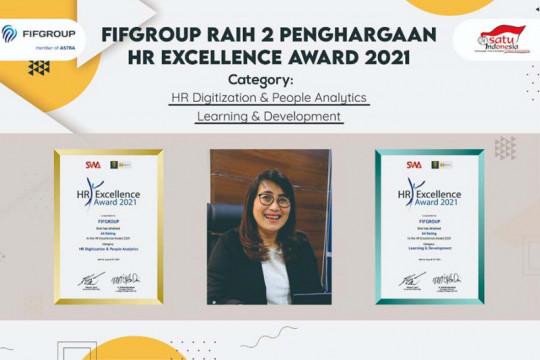FIFGroup raih dua penghargaan HR Excellence Award 2021