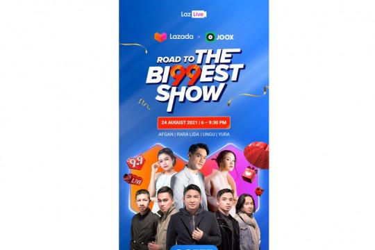Konser JOOX Live buka rangkaian Festival Belanja The Bi99est Show