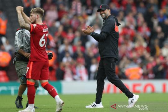 Klasemen Liga Inggris: Liverpool rebut puncak, Brighton posisi kedua