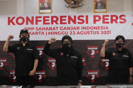 Sahabat Ganjar deklarasikan Ganjar Pranowo maju Pilpres 2024