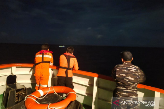 Kelompok nelayan hanyut di Perairan Pulau Lampu diselamatkan tim SAR
