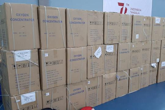 Honda distribusikan 200 unit oxygen concentrator ke Kemenperin