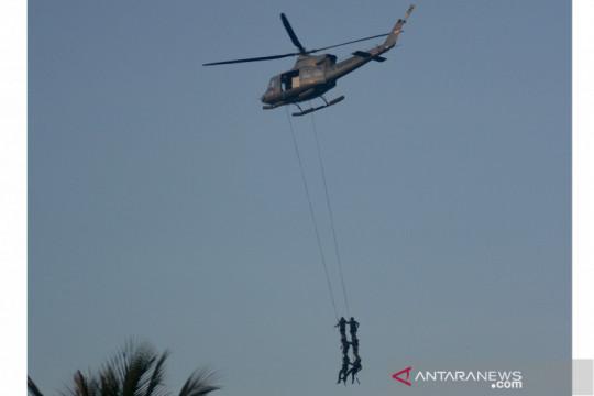 Latihan Operasi Dukungan Pasukan Khusus Gabungan TNI AL