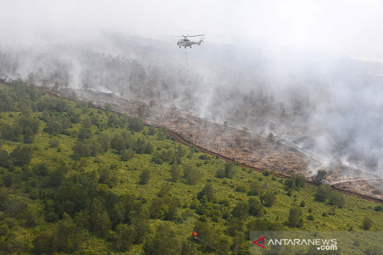 Satgas Karhutla Muba menggencarkan patroli di kawasan rawan terbakar