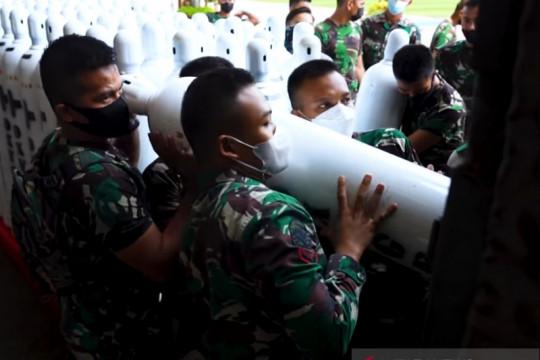 Kasad: Bantuan oksigen dari SKK Migas langsung didistribusikan