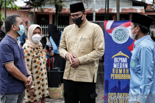 Pemkot Medan: 200 remaja dari setiap masjid akan divaksin