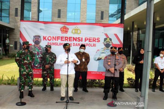 Menkes-Panglima TNI-Kapolri beri dukungan vaksinasi buruh lebih banyak