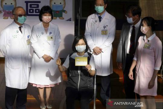 Presiden Taiwan terima vaksin dari Medigen Vaccine Biologics Corp