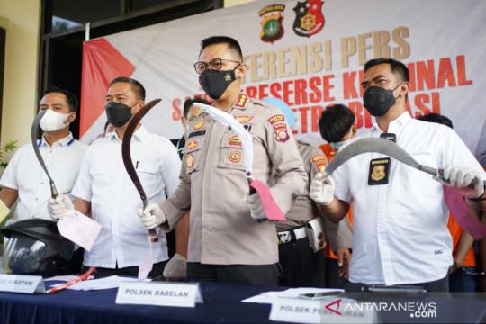 Polres Bekasi ringkus sembilan begal sepeda motor