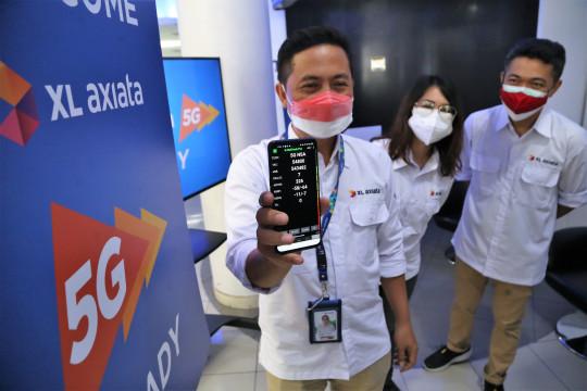 XL Axiata siapkan demo 5G di empat kota
