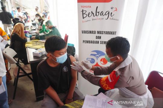 Cegah kluster kawasan industri, TMMIN lanjutkan vaksinasi di Karawang