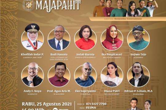 Festival Majapahit 2021 digelar di Mojokerto-Jatim genjot pariwisata