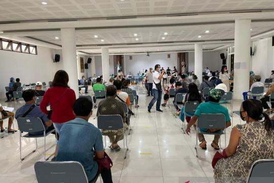 632 warga ikuti vaksinasi di Gereja Santa Maria Imakulata Kalideres