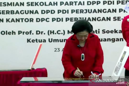 Megawati tegaskan kantor partai tidak boleh jadi milik pribadi