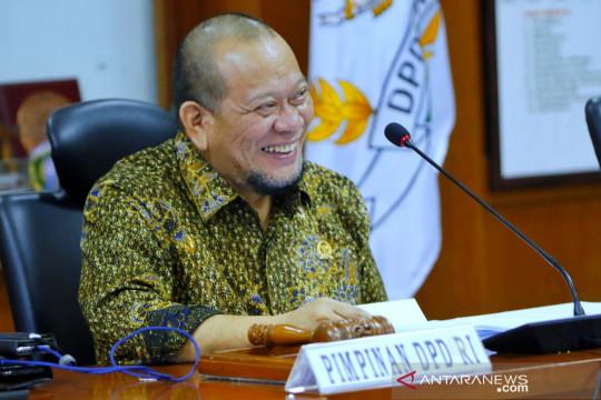 Ketua DPD RI siap perjuangkan aspirasi para pengemudi ojek online