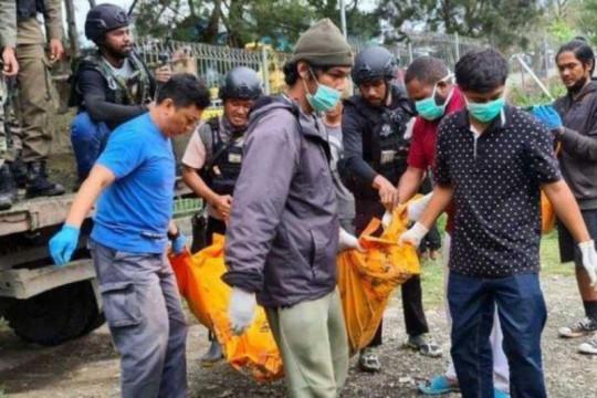 Satgas Nemangkawi buru pembunuh dua pekerja Indopapua