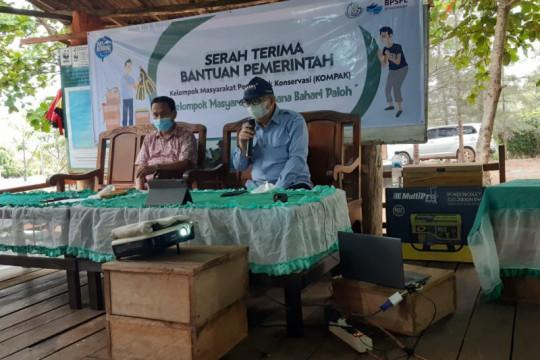KKP salurkan bantuan konservasi Rp97,46 juta di perbatasan Kalbar