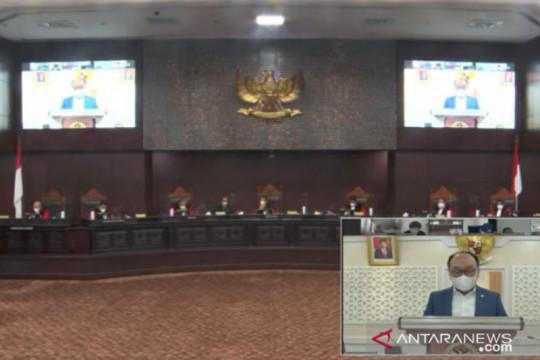 Hakim MK minta DPR jelaskan mekanisme pemutusan akses dalam UU ITE
