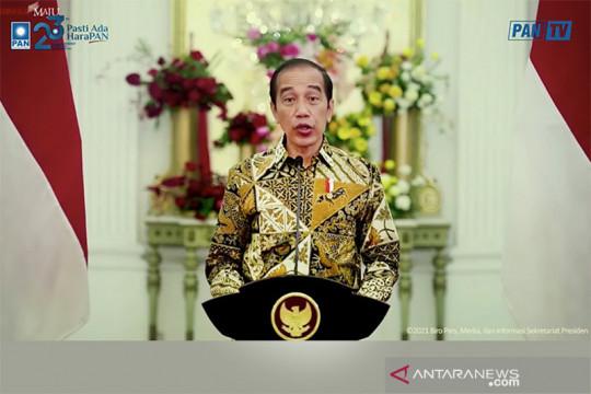 Presiden Jokowi: Hindari politik sektarian yang halangi persatuan
