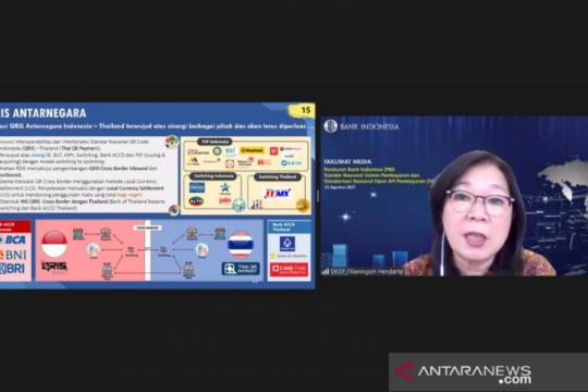 BI: Tiga bank Indonesia awali setelmen QR antarnegara dengan Thailand