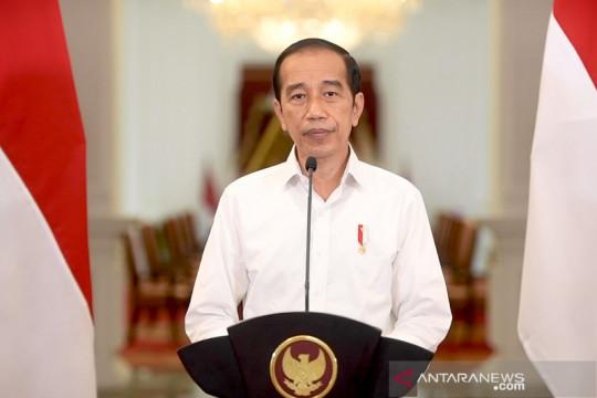 Presiden Jokowi umumkan perkembangan PPKM