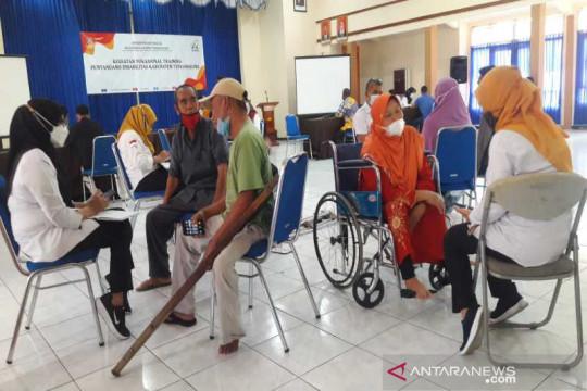 25 disabilitas ikut pelatihan keterampilan di Balai Besar Kartini