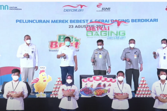 PT Berdikari hadirkan gerai daging dan produk BeBest