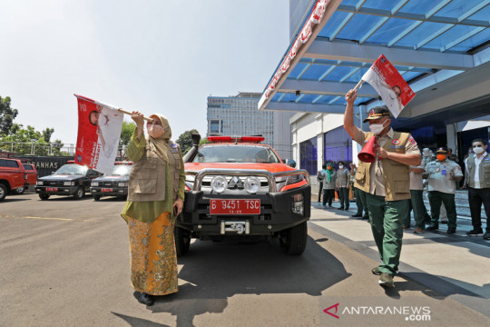 Gerakan Mobil Masker merambah ke wilayah Jawa Barat