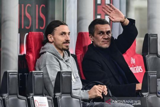 Maldini ingin segera lihat duet Ibrahimovic dan Giroud di Milan