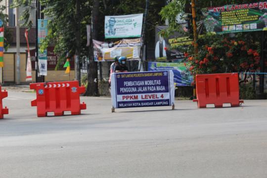 Sekda Lampung: PPKM level 4 diharapkan dapat turunkan kasus COVID-19