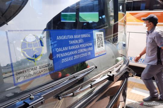 Sejak awal Agustus 2021, Terminal Pulo Gebang berangkatkan enam bus