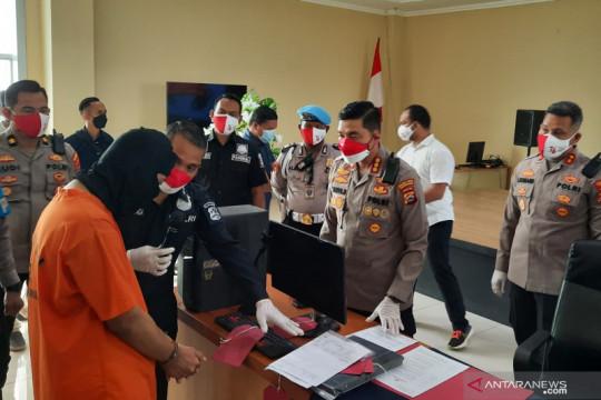 Polresta Tangerang menangkap satu tersangka palsukan surat bebas COVID