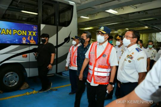 Kemenhub kirim 428 unit bus dukung PON XX dan PEPARNAS XVI di Papua