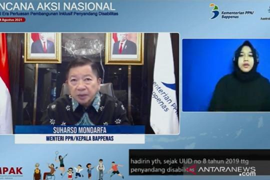 Menteri PPN: Laksanakan komitmen RAN Penyandang Disabilitas