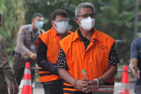 Bupati Bintan nonaktifApri Sujadi diperiksa KPK