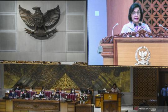 Di DPR, Sri Mulyani ungkap dampak ganda penempatan Dana PEN bagi UMKM