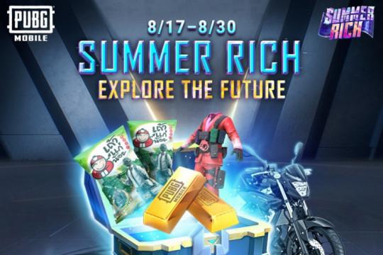 PUBG Mobile manjakan penggemar di penghujung Summer Rich