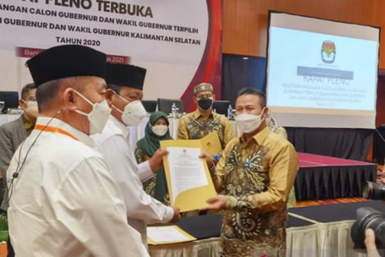 Sahbirin-Muhidin dilantik jadi gubernur Kalsel di Istana Negara Rabu