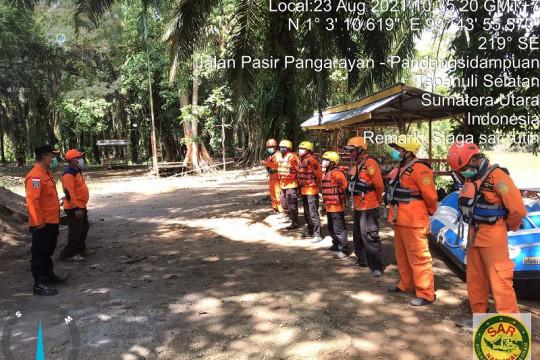 SAR hentikan pencarian warga yang hilang di Sungai Barumun