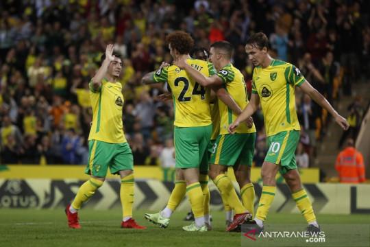Norwich gulung Bournemouth 6-0 menuju putaran ketiga Piala Liga